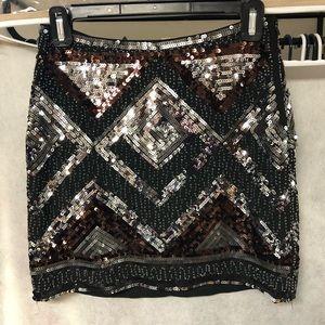 H&M sequence skirt